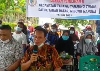 Reses Ke III Ta 2021 Anggota DPRD Batu Bara H Rohadi SP